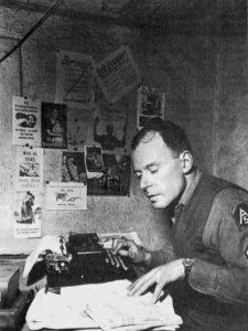 Klaus Mann, soldat de l'armée américaine pendant la campagne d'Italie (1944), cliché de l'US Army