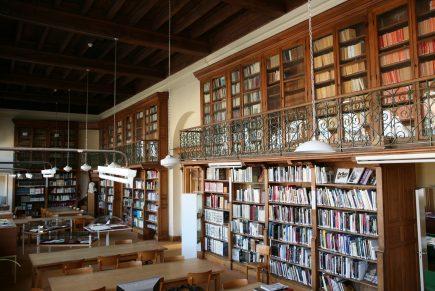 Jean Guéhenno à la Bibliothèque de Fougères