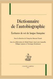 Une note sur Jean Guéhenno dans le Dictionnaire de l'autobiographie