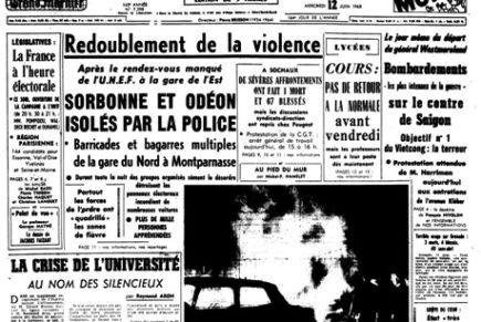 Le mai 68 de Jean Guéhenno
