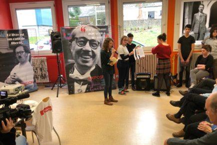 Jean Guéhenno reçoit un vibrant hommage dans le lycée qui porte son nom